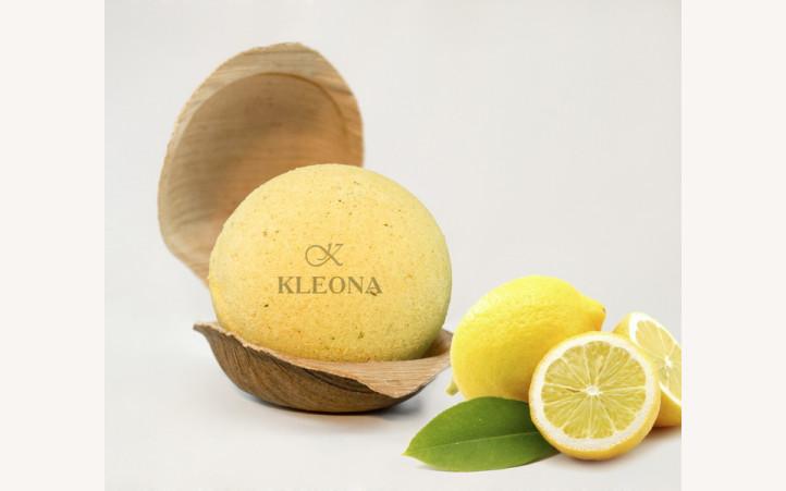 Бурлящий шар «Лимонный зефир»
